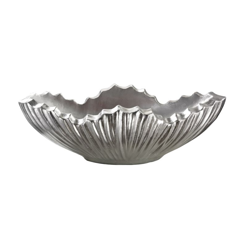 Dimond Home 166-016 Poppy Planter - Silver Silver Leaf Home Decor