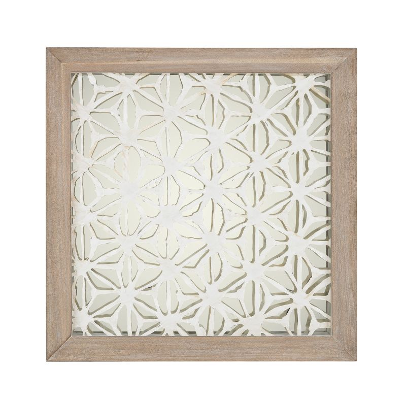 "Dimond Home 168-004 Natural Fibers On Foil 24"" X 24"" Wall Decor"