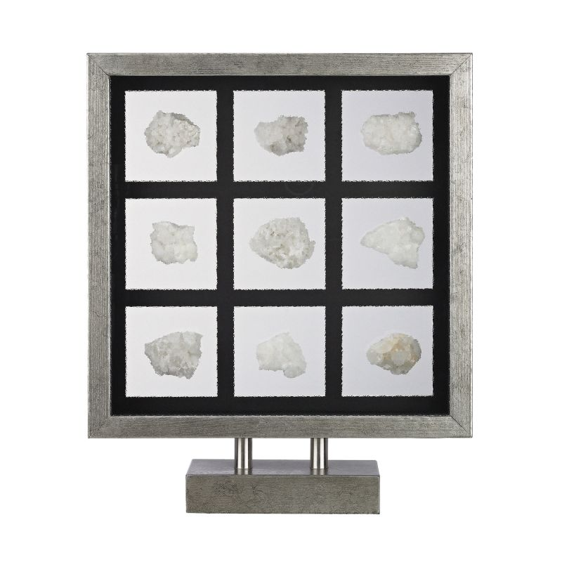 Dimond Home 168-006 Sea Shell Table Top Display Silver / White Shells