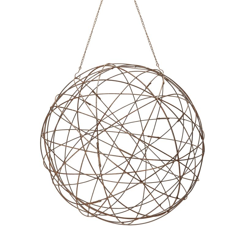 Dimond Home 594046 Aged Iron Wire Sphere - Large Aged Iron Home Decor