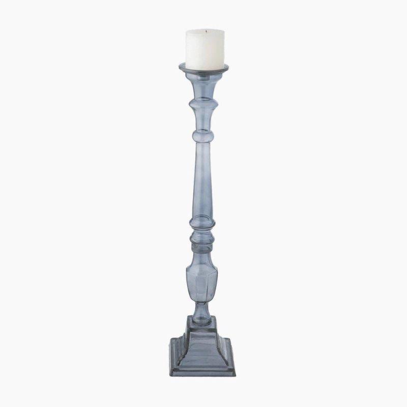 Dimond Home 625009 Knight Pillar Holder - Small Plum Home Decor Candle