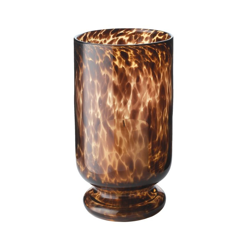 Dimond Home 824010 Tortoise Hurricane - Large Brown Home Decor Candle