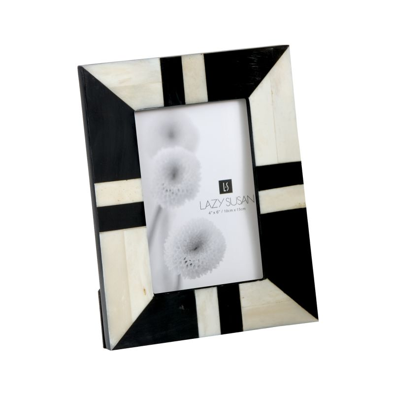 Dimond Home 903001 Black And White Horn And Bone Frame Multi Home