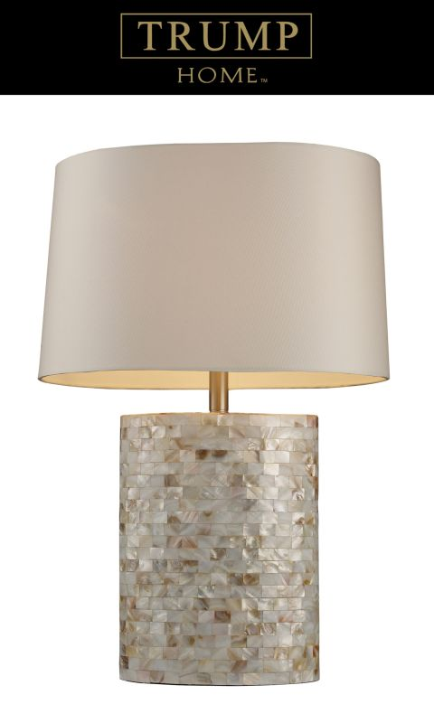 Dimond Lighting D1413 1 Light Table Lamp from the Sunny Isles