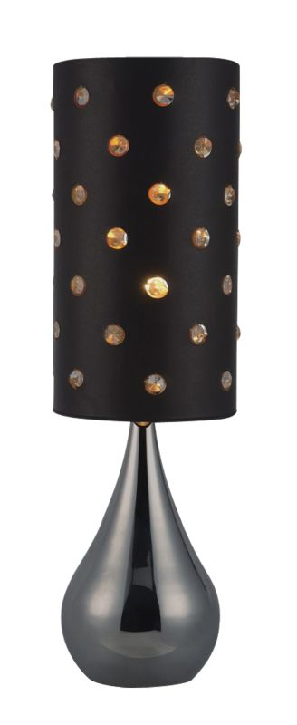 Dimond Lighting D1513 1 Light Accent Table Lamp from the Ursina