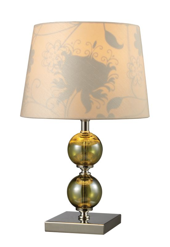"Dimond Lighting D1610 1 Light 16"" Height Table Lamp from the Sharon"
