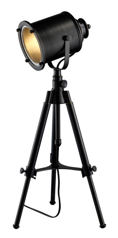 Dimond Lighting D1734 1 Light Tripod Table Lamp from the Ethan