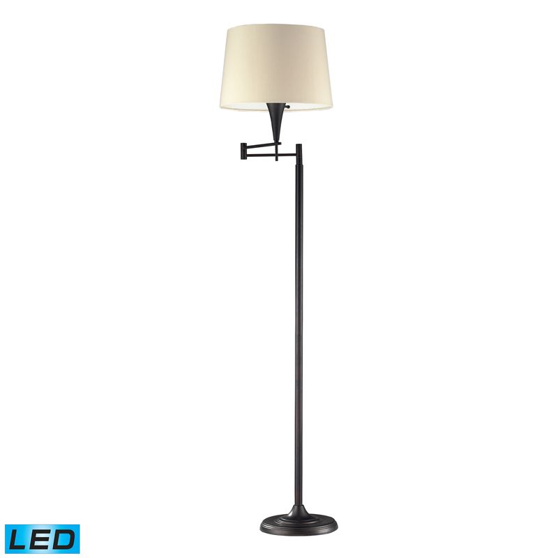 Dimond Lighting 10293/1-LED 1 Light LED Swing Arm Floor Lamp from the Sale $358.00 ITEM: bci2585148 ID#:10293/1-LED UPC: 748119058580 :