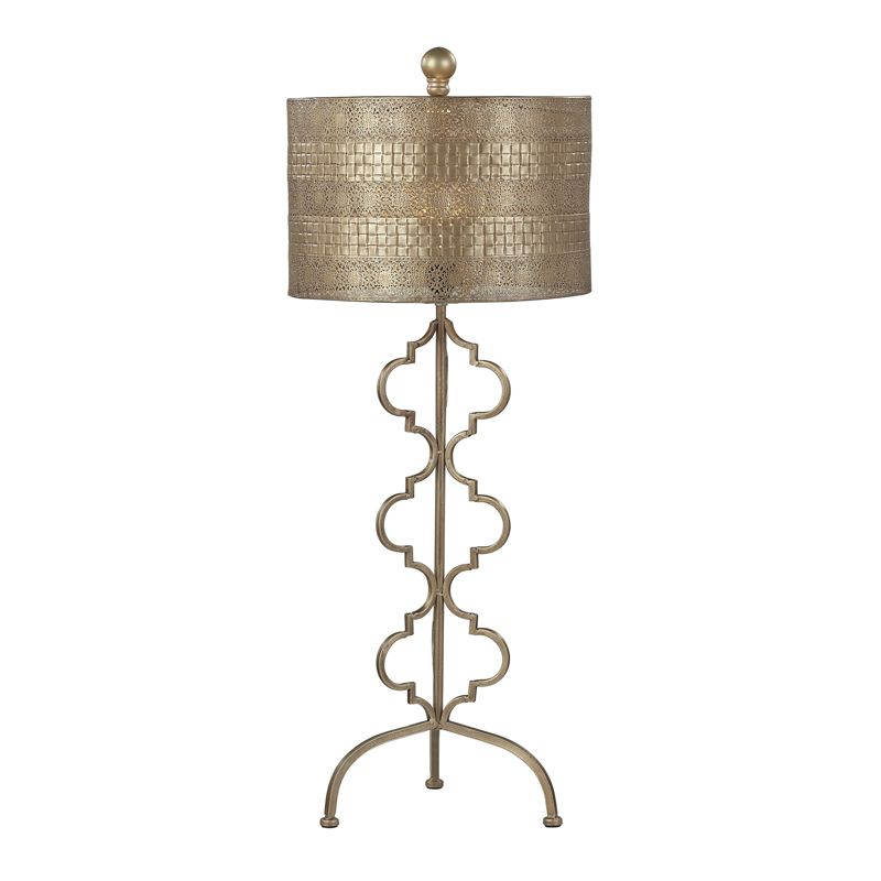 Dimond Lighting 138-014 1 Light Accent Table Lamp from the Viola
