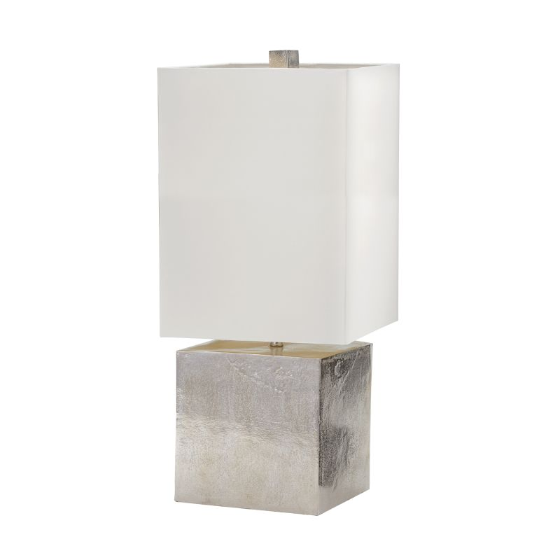 Dimond Lighting 178-030 1 Light Table Lamp in Nickel from the Cement