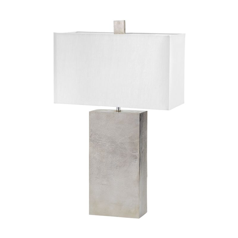 Dimond Lighting 178-032 1 Light Table Lamp in Nickel from the Cement