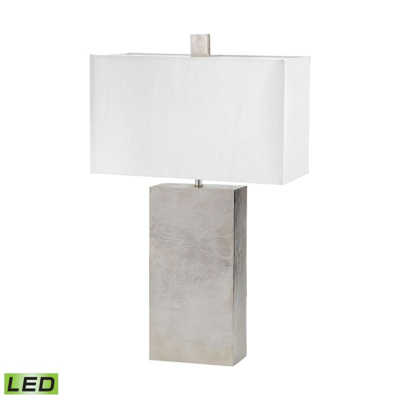Dimond Lighting 178-032-LED 1 Light LED Table Lamp in Nickel from the Sale $318.00 ITEM: bci2611080 ID#:178-032-LED UPC: 843558136582 :