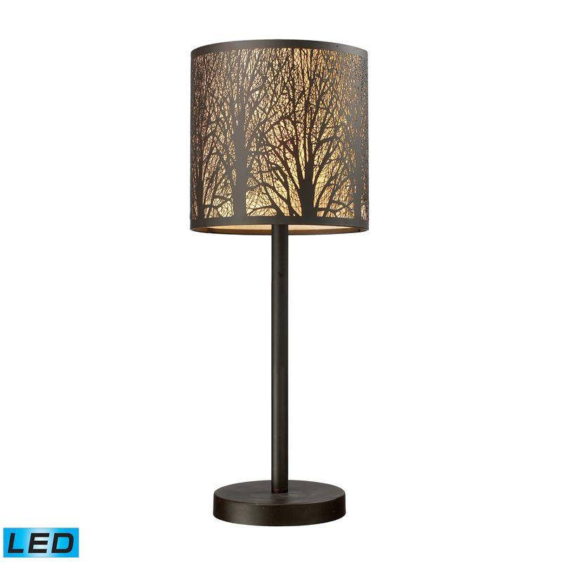 Dimond Lighting 31072/1-LED 1 Light LED Table Lamp from the Woodland Sale $230.00 ITEM: bci2585201 ID#:31072/1-LED UPC: 748119058672 :