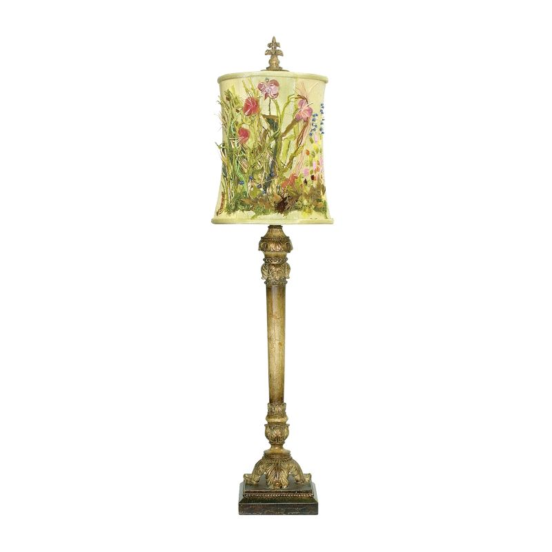 Dimond Lighting 91-135 1 Light Buffet Table Lamp from the Monet Garden