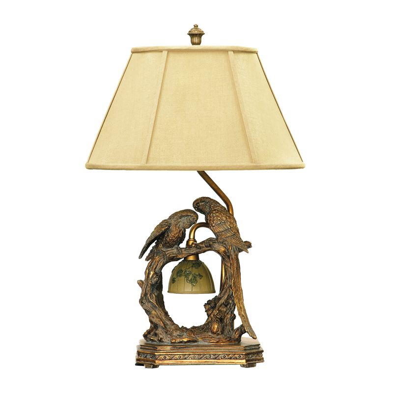 Dimond Lighting 91-507 1 Light Accent Table Lamp from the Twin Parrots