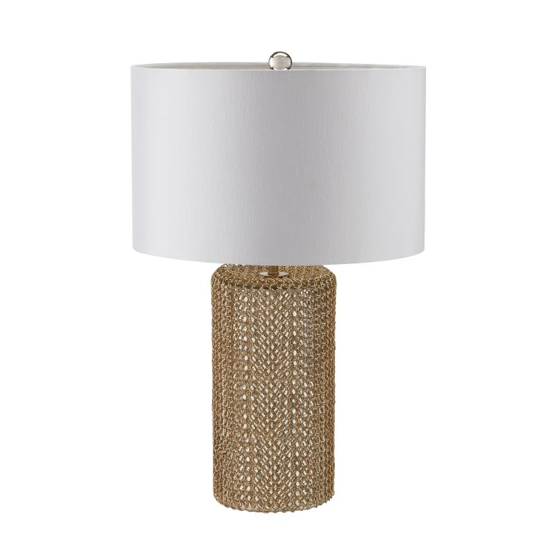 "Dimond Lighting 983-008 1 Light 24"" Height Table Lamp from the Chain"