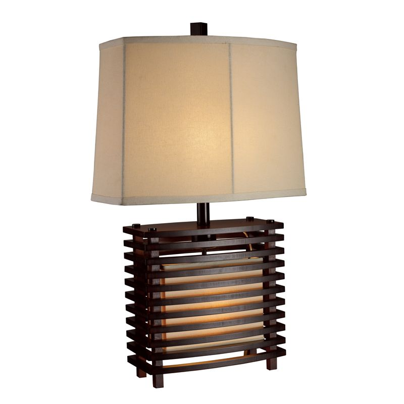 Dimond Lighting D1419-LED 1 Light LED Accent Table Lamp from the Burns