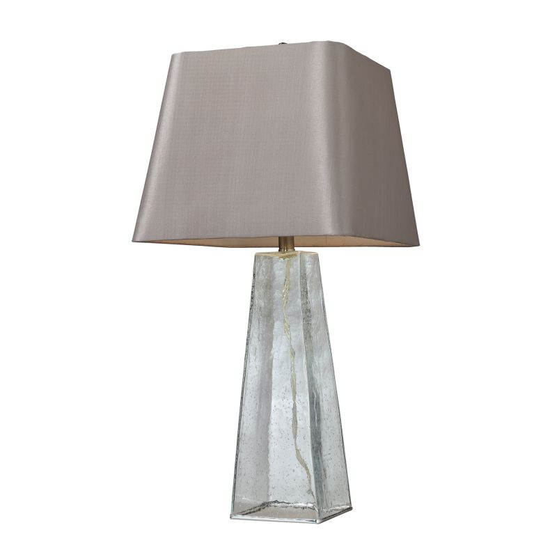Dimond Lighting D146 1 Light Table Lamp with Light Grey Shade Clear Sale $190.00 ITEM: bci2672776 ID#:D146 UPC: 748119036076 :