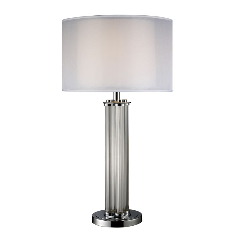 Dimond Lighting D1614-LED 1 Light LED Table Lamp from the Hallstead Sale $358.00 ITEM: bci2585369 ID#:D1614-LED UPC: 748119059365 :