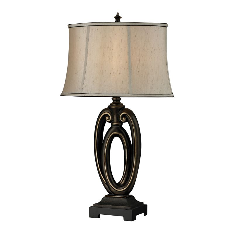 Dimond Lighting D2402 1 Light Accent Table Lamp from the Signature