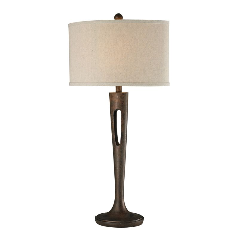 Dimond Lighting D2426 1 Light Accent Table Lamp from the Martcliff