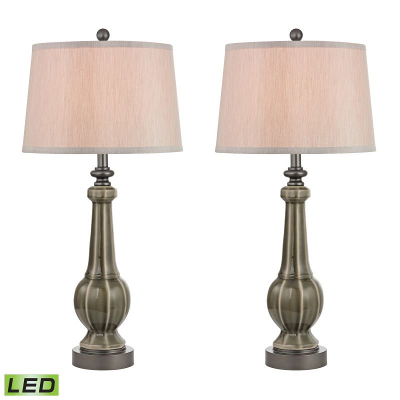 Dimond Lighting D2446/S2-LED 1 Light LED Table Lamp from the Sailsbury Sale $310.00 ITEM: bci2369831 ID#:D2446/S2-LED UPC: 748119063140 :