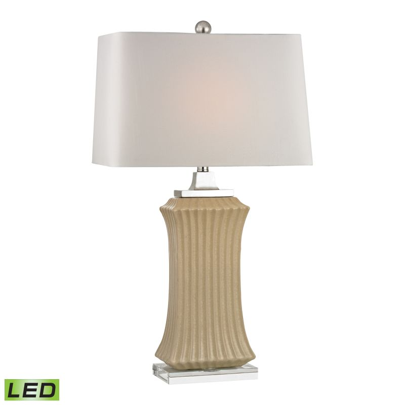 Dimond Lighting D2451-LED 1 Light LED Table Lamp from the Wiltshire