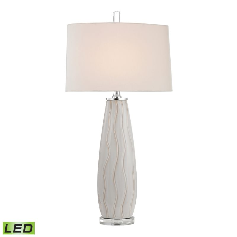 Dimond Lighting D2452-LED 1 Light LED Table Lamp from the Andover