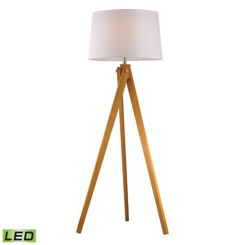 Dimond Lighting D2469-LED 1 Light LED Tripod Floor Lamp from the