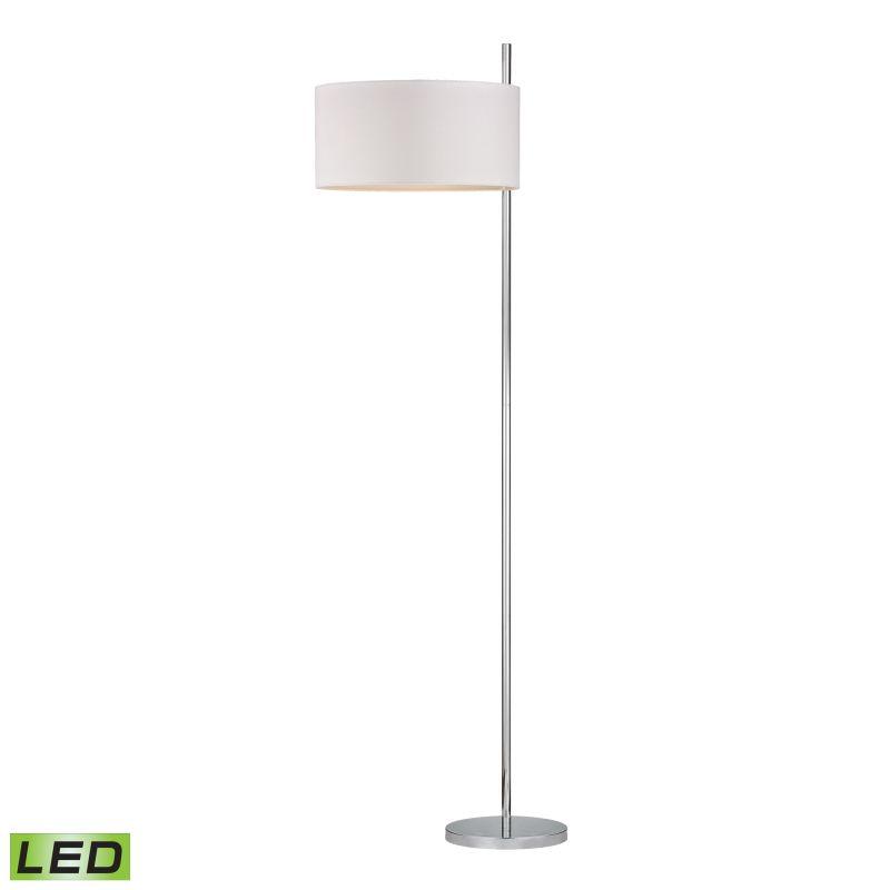 Dimond Lighting D2473-LED 1 Light LED Floor Lamp from the Attwood