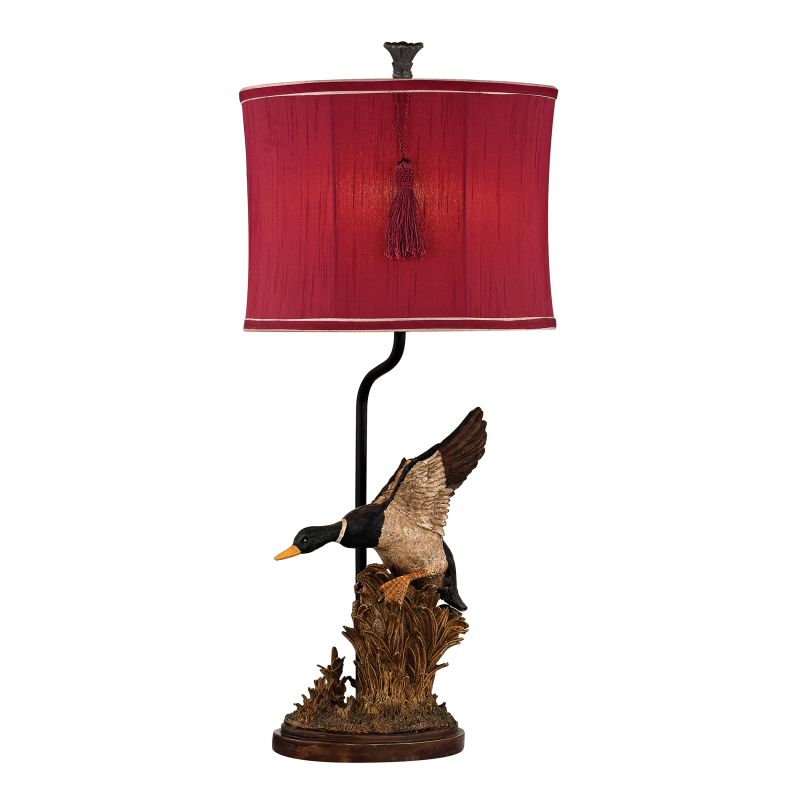 Dimond Lighting D2482 Single Light Accent Table Lamp from the Duck