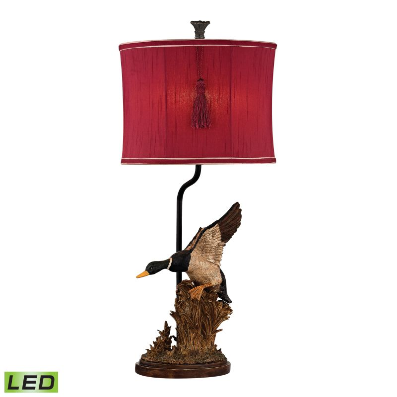 Dimond Lighting D2482-LED 1 Light LED Accent Table Lamp from the Duck
