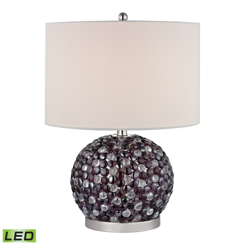 Dimond Lighting D2492-LED 1 Light LED Table Lamp from the Amethyst Sale $230.00 ITEM: bci2369894 ID#:D2492-LED UPC: 748119063423 :