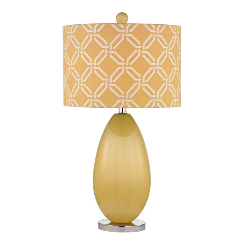 Dimond Lighting D2498 1 Light Table Lamp in Sunshine Yellow from the