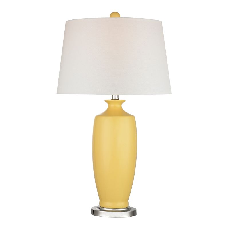 Dimond Lighting D2505 1 Light Table Lamp in Sunshine Yellow from the
