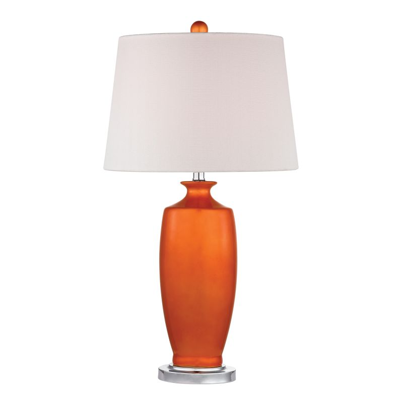 Dimond Lighting D2512 1 Light Table Lamp in Tangerine Orange from the Sale $178.00 ITEM: bci2369927 ID#:D2512 UPC: 748119062112 :