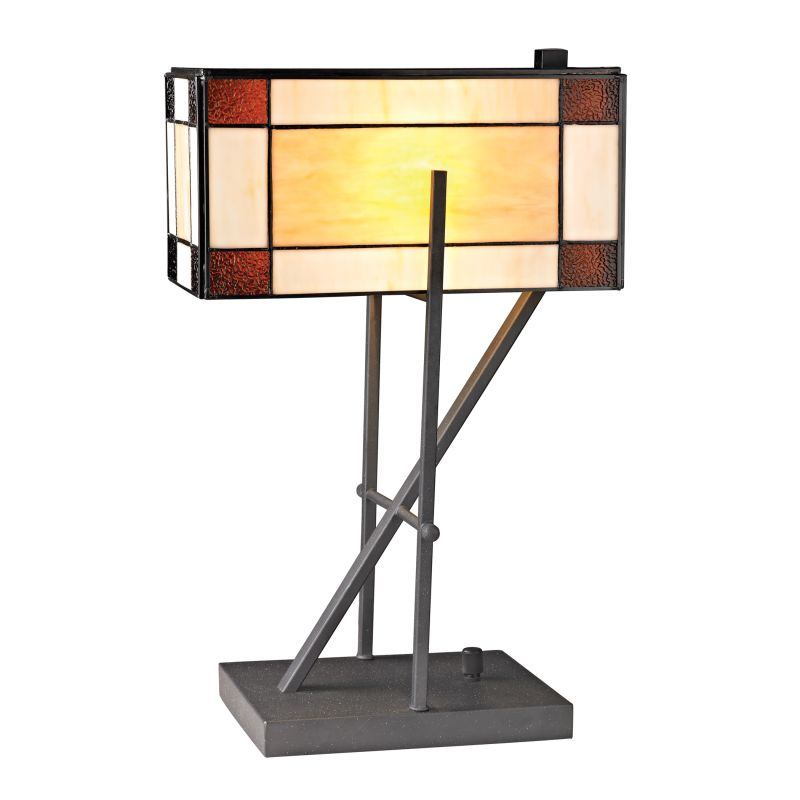 Dimond Lighting D2540 1 Light Accent Table Lamp from the Fortwilliam