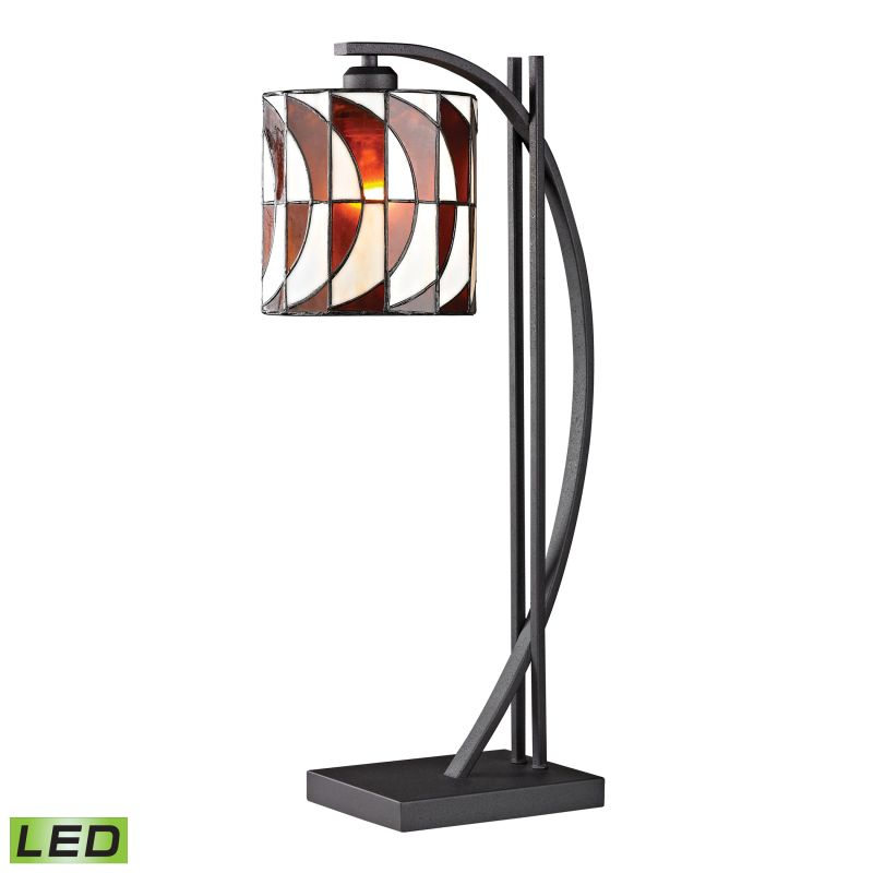 Dimond Lighting D2541-LED 1 Light LED Gooseneck Table Lamp from the