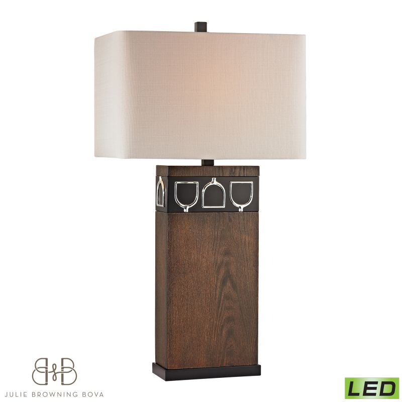 Dimond Lighting D2554-LED 1 Light LED Table Lamp from the Triple Tack