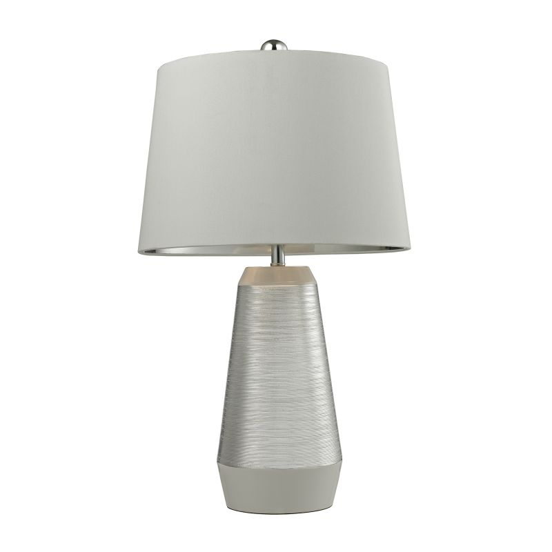 Dimond Lighting D2576 1 Light Table Lamp from the Etched Ceramic