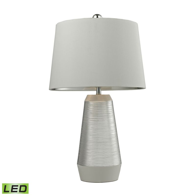 Dimond Lighting D2576-LED 1 Light LED Table Lamp from the Etched