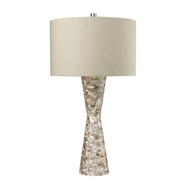 Dimond Lighting D2607 1 Light Table Lamp from the Mother of Pearl