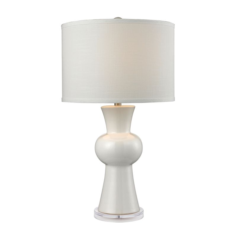 "Dimond Lighting D2618 1 Light 28"" Height Table Lamp from the Ceramic"