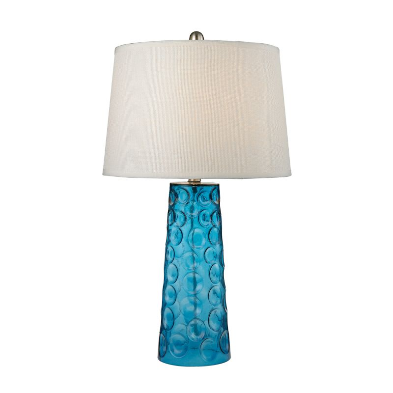 Dimond Lighting D2619 1 Light Table Lamp from the Hammered Glass