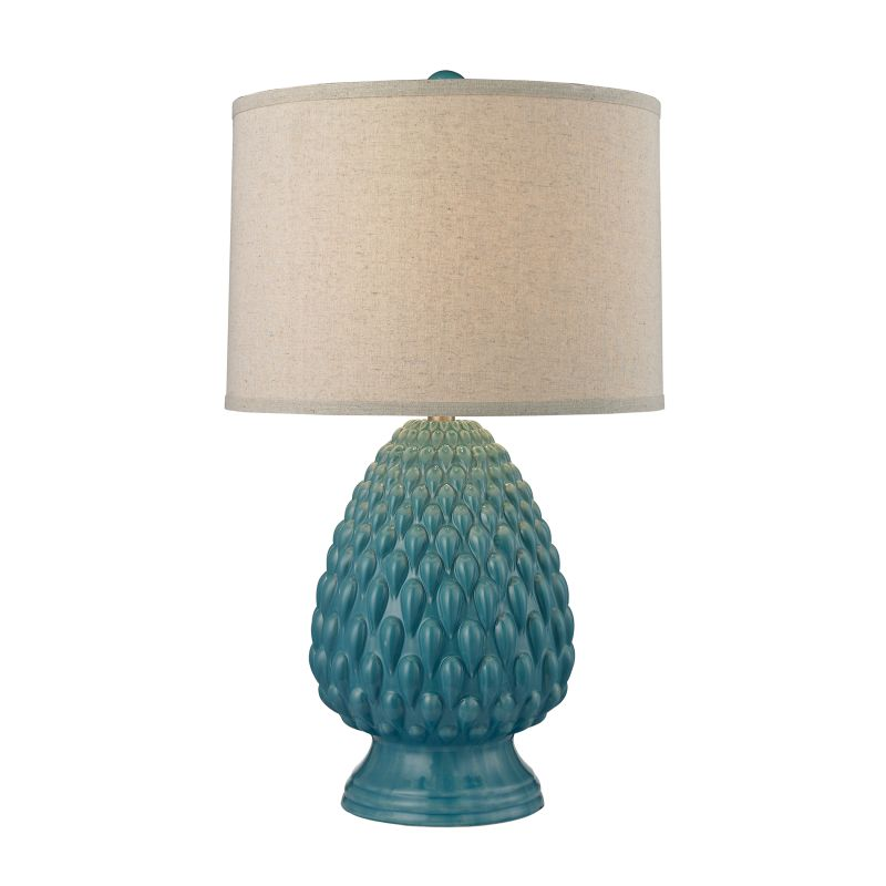 Dimond Lighting D2620 1 Light Table Lamp from the Acorn Ceramic