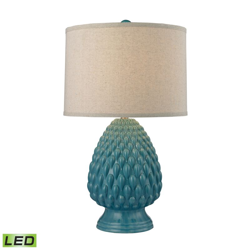 Dimond Lighting D2620-LED 1 Light LED Table Lamp from the Acorn