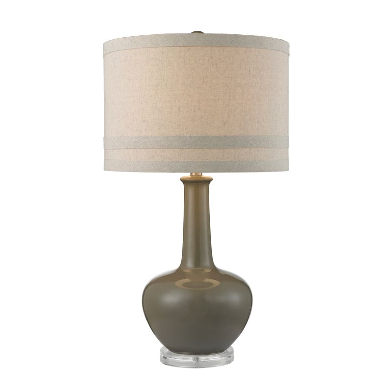 Dimond Lighting D2623 1 Light Table Lamp from the Ceramic Collection