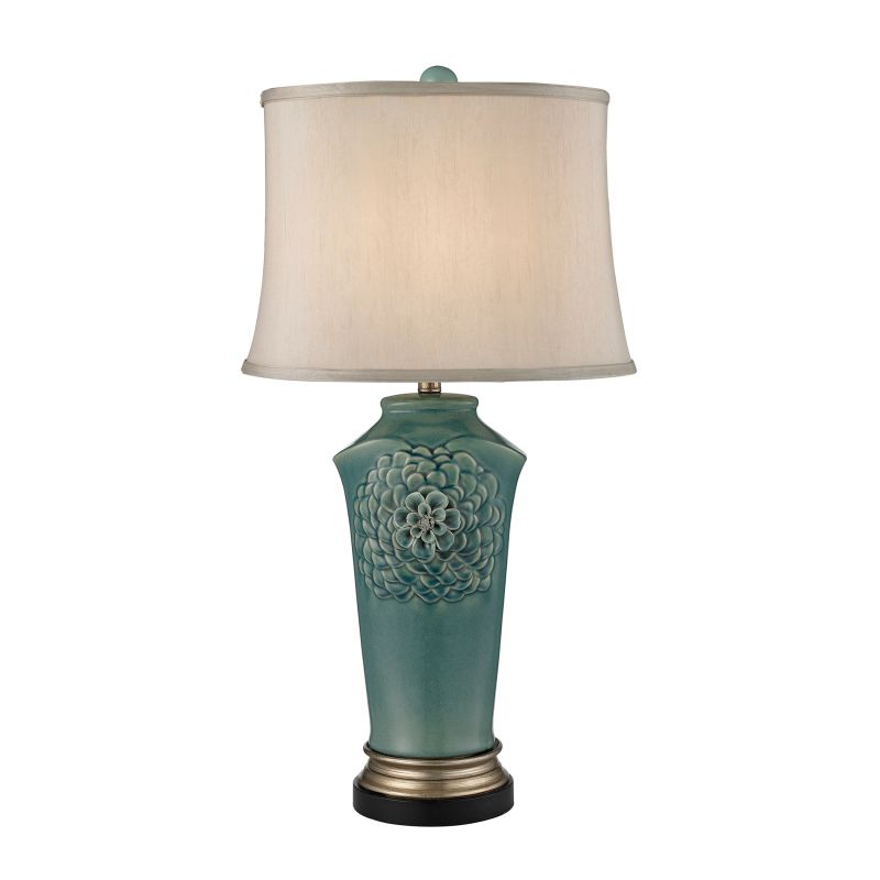 Dimond Lighting D2626 1 Light Table Lamp from the Organic Flowers