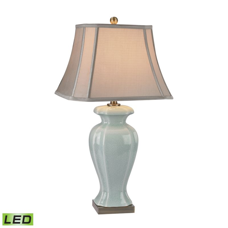 "Dimond Lighting D2632-LED 1 Light 29"" Height LED Table Lamp from the"