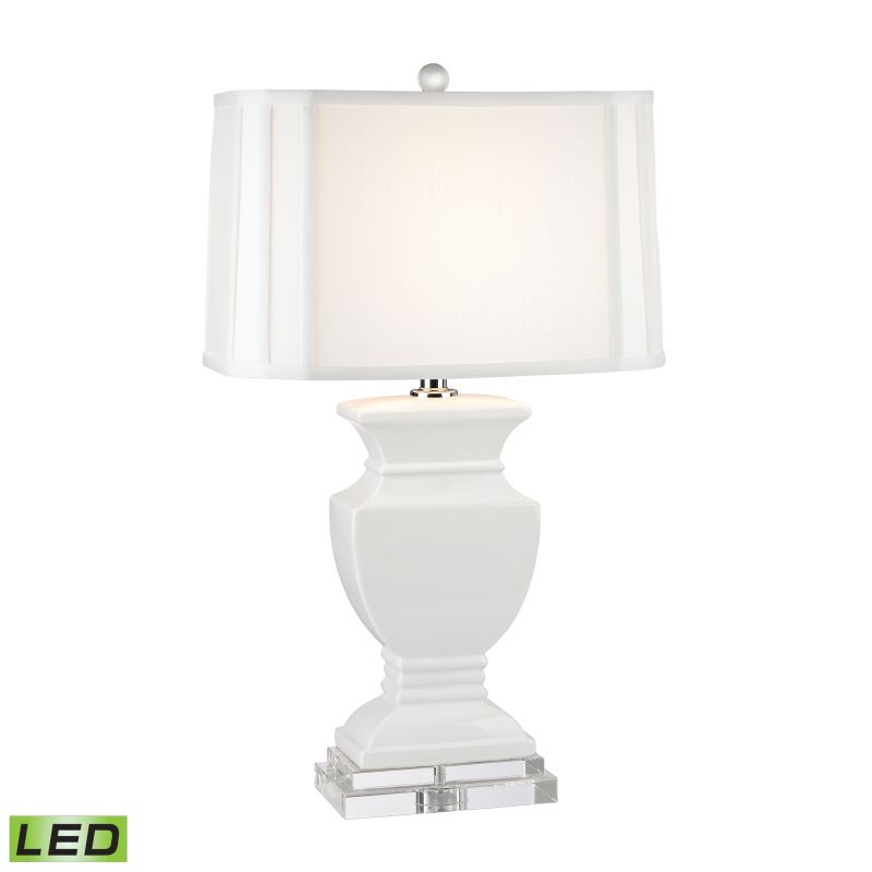 "Dimond Lighting D2634-LED 1 Light 27"" Height LED Table Lamp from the"